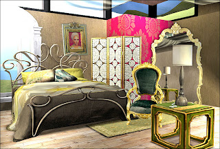 female bedroom