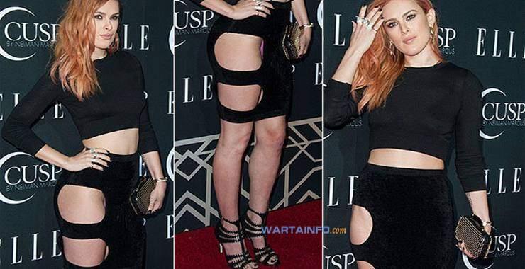 Foto Hot celana dalam CD Rumer Willis Artis Wanita Seksi Hollywood tak sengaja terekspos