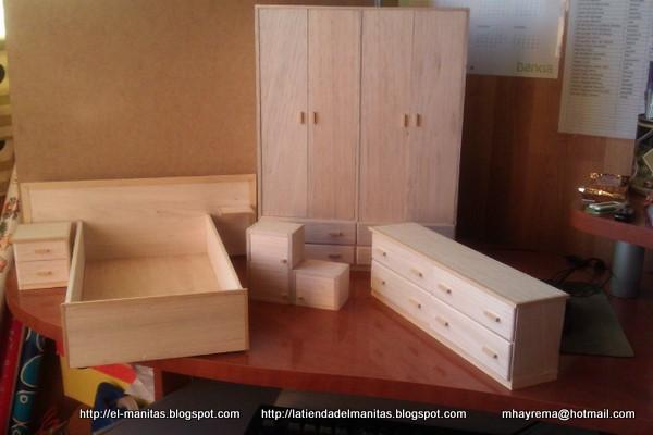 El mundo de las manualidades y la artesan a muebles para for Muebles a escala 1 50 para planos
