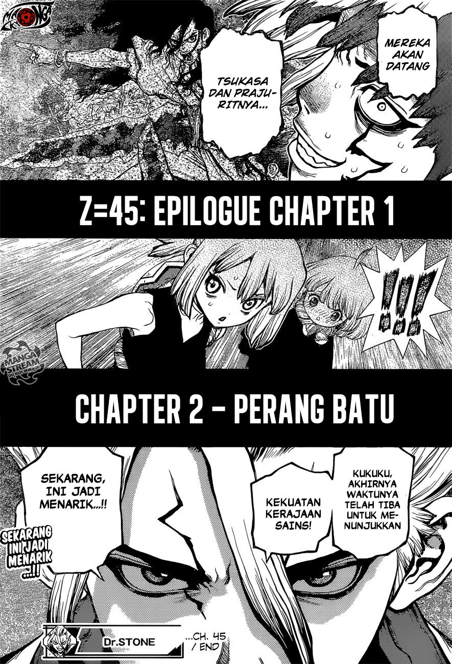 Dr. Stone Chapter 45-16