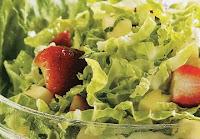 Salada de Acelga com Frutas (vegana)