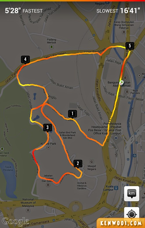 nike running app screenshot
