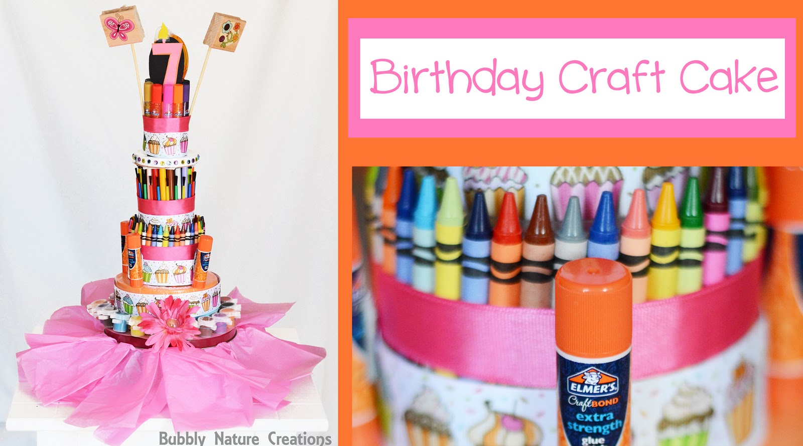 Birthday Cake Art And Craft : Birthday Craft Cake - Sprinkle Some Fun