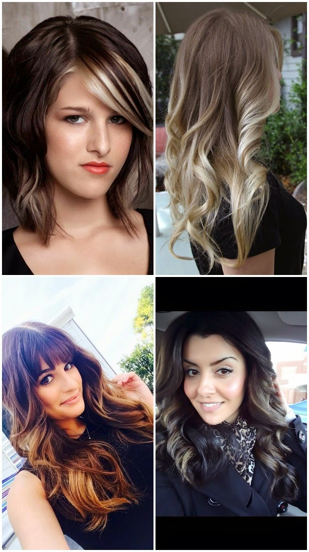 hair color highlights