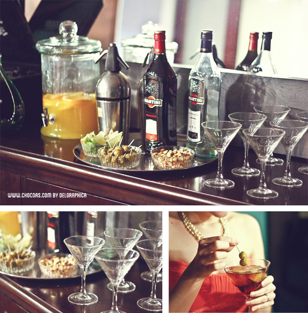 Party Mad men & martini