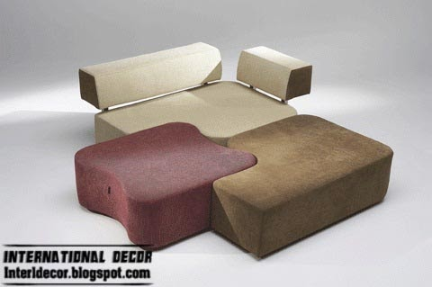 Couch Furniture Design interior design 2014: 12 puzzle sofas and couches furniture sets