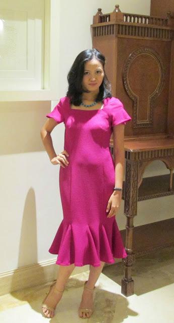 Darlene's Fit and Flounce Jersey Dress
