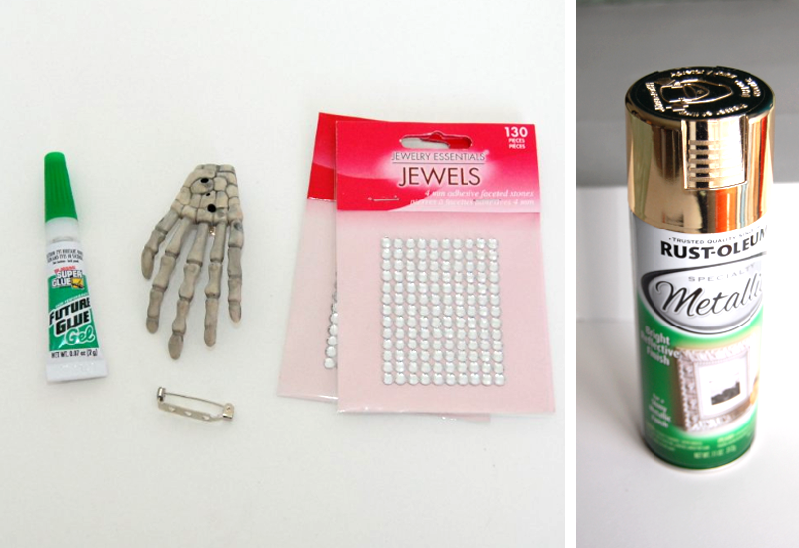 I instantly thought of this 800 400 brooch and this DIY was born