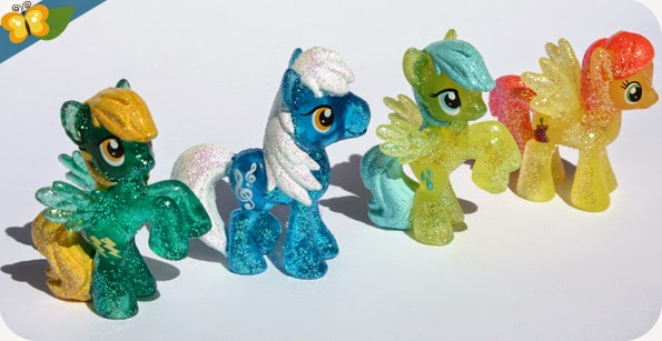 Figurines My Little Poney - sachets mystère - série 10 - Hasbro
