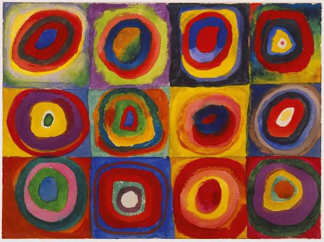 Atividade Artes Inspirada na obra de Wassily Kandinsky
