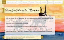 """Página wix """"Don Quijote"""""""