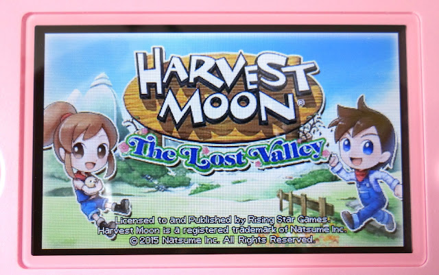 Nintendo 3DS, Harvest Moon: The Lost Valley, farming simulation game