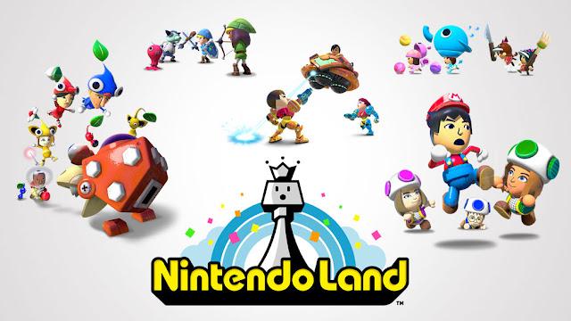 Promo image for Wii U game Nintendo Land