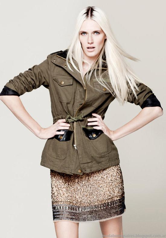 Camperas cazadoras invierno moda mujer Basement