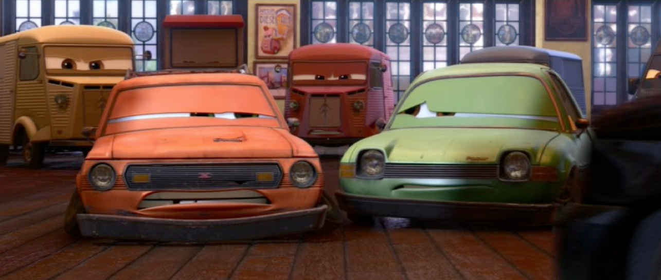 Dan The Pixar Fan Cars 2 Grem And Acer Quot In Trouble Quot 2 Pack