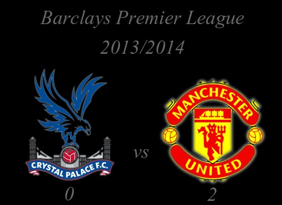 Crystal Palace vs Manchester United Result Barclays Premier League 20132014