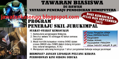 Program Peneraju  Skill Welder Terkini
