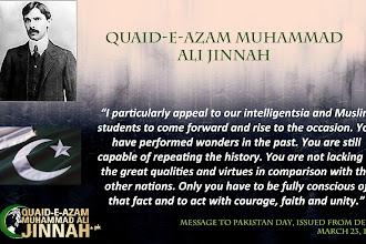 Happy Quaid-e-Azam's Day.
