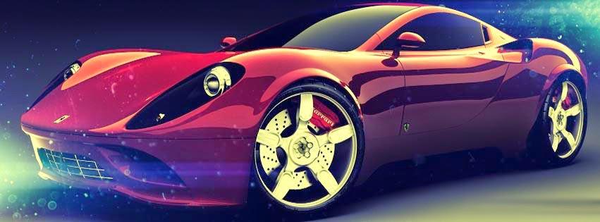 غلاف فيس بوك سيارات