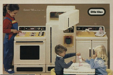 So I Decided To Make Over My Vintage 1980u0027s Little Tikes Kitchen Set...and  Put It On Pinterest.