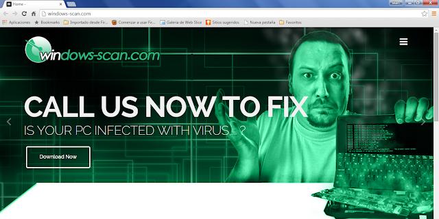 Windows-scan.com pop-up ads