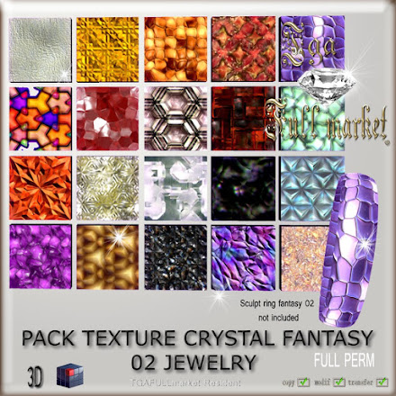 PACK TEXTURE CRYSTAL FANTASY 02