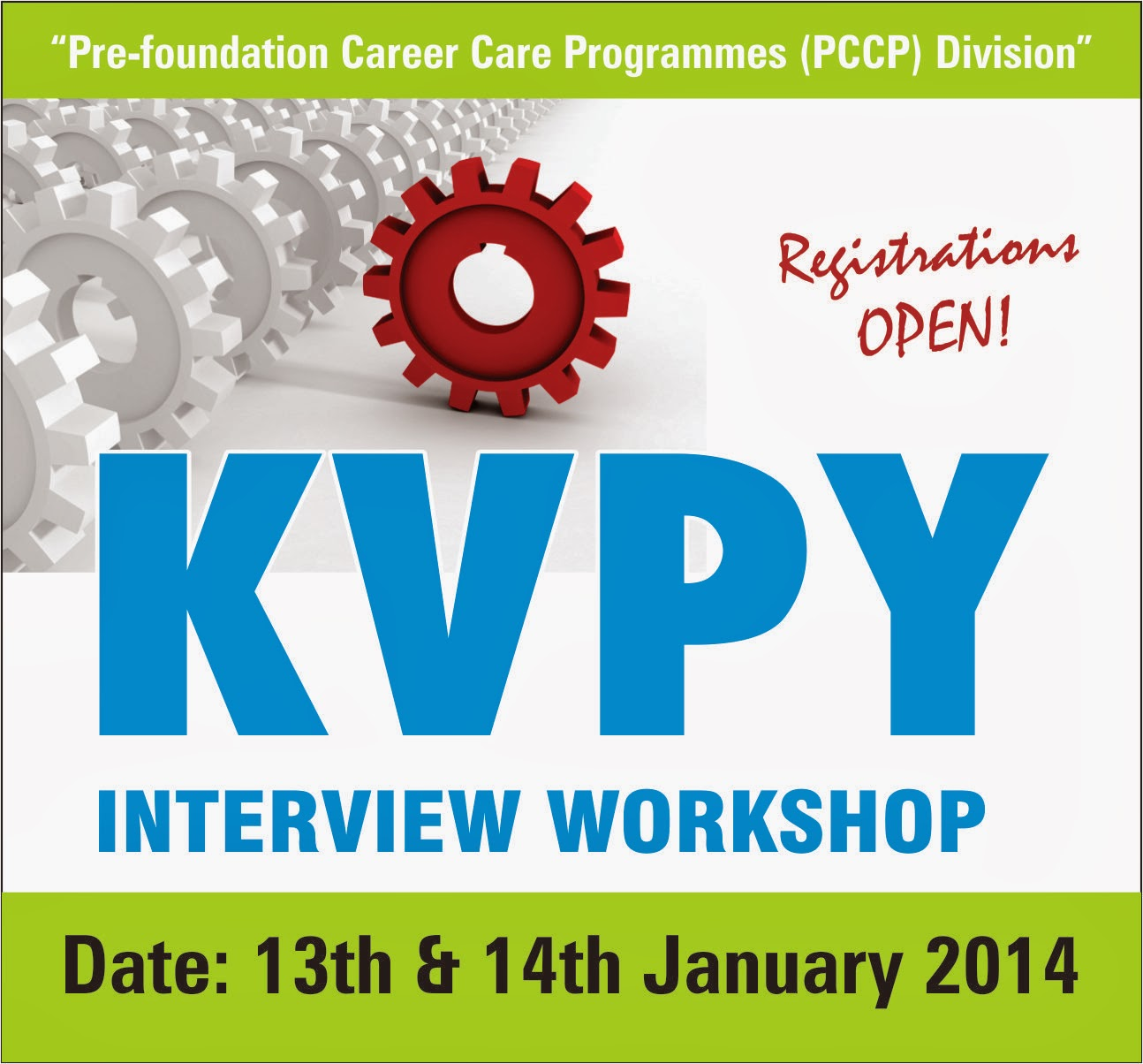 KVPY Interview Workshop