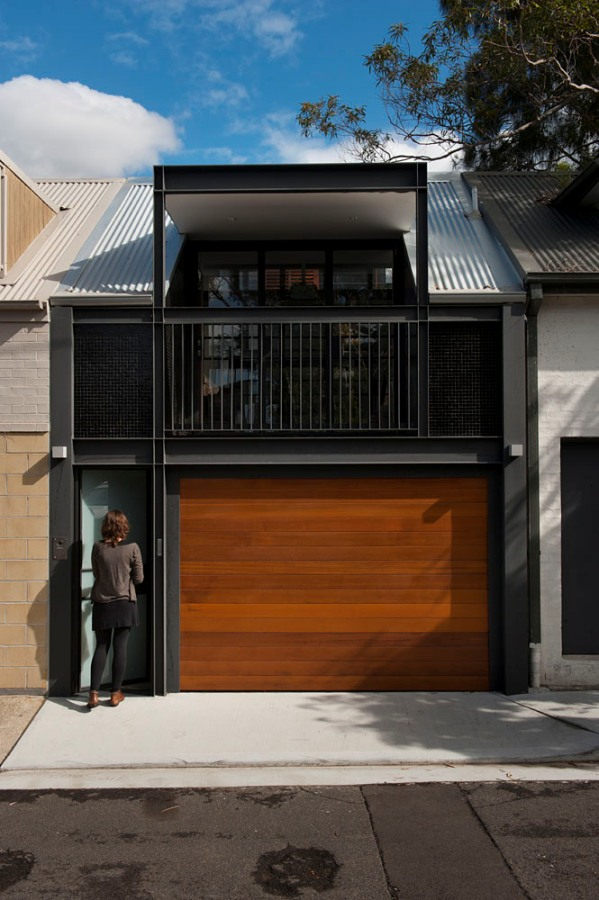 Terrace house into a contemporary oasis in sydney home design ideas - Modern houses terrace ...