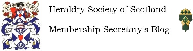 Heraldry Society of Scotland - Membership Secretary's Blog