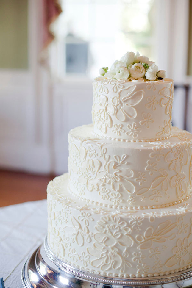 Design Patterns Of Cake : Have a vintage theme choose Lace Wedding Cake Designs ...
