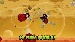 Angry Birds Space new level