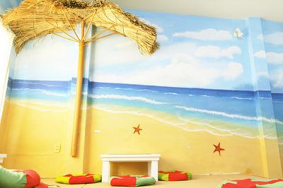 vẽ tranh tường quán cafe,vẽ tranh tường quán trà sữa