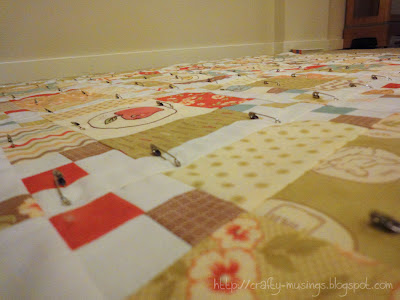 basted Whimsy quilt