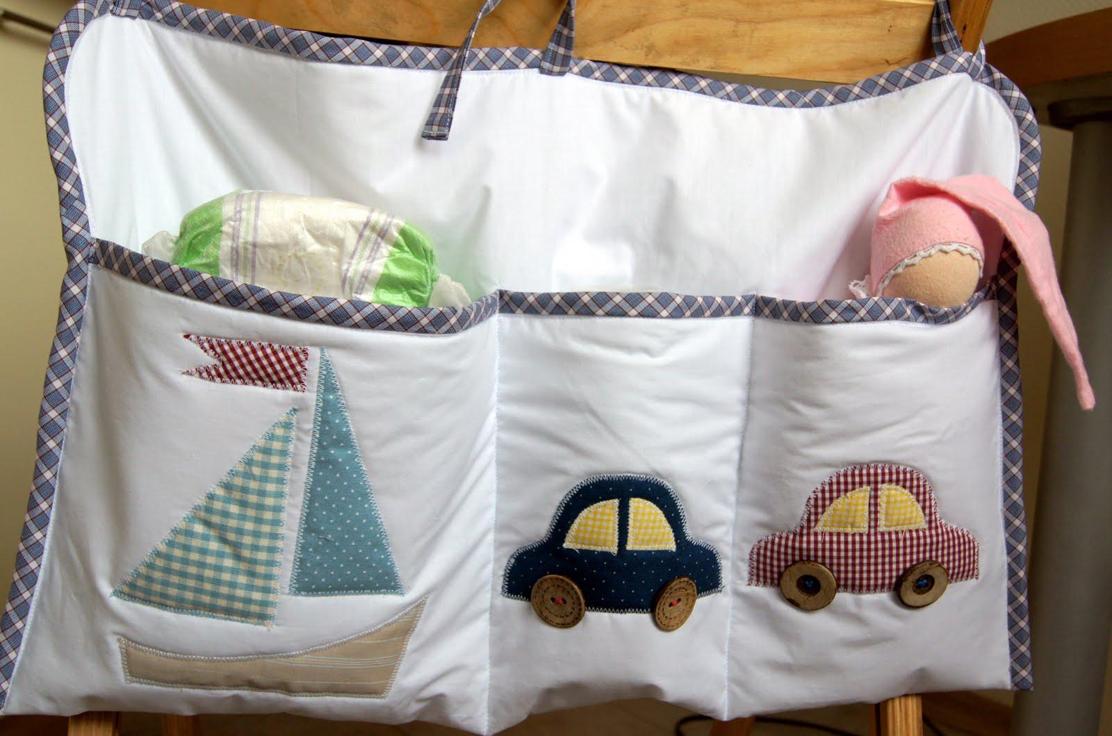 Как сшить кармашки на детскую кроватку своими руками