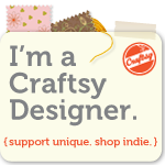 Check out my patterns on Craftsy!