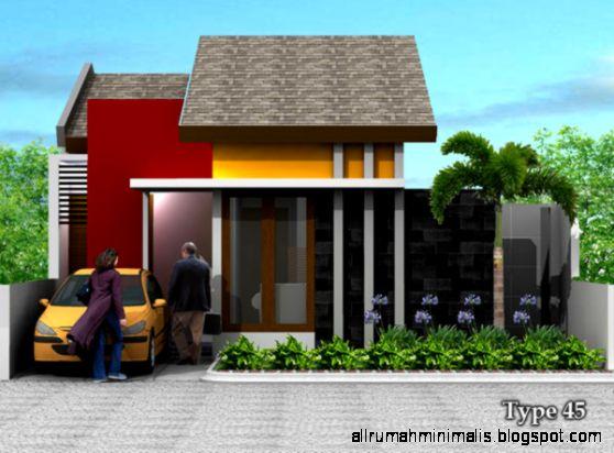 Gambar Rumah Type 45 2015   Foto Desain Rumah Type 45 Desain Rumah