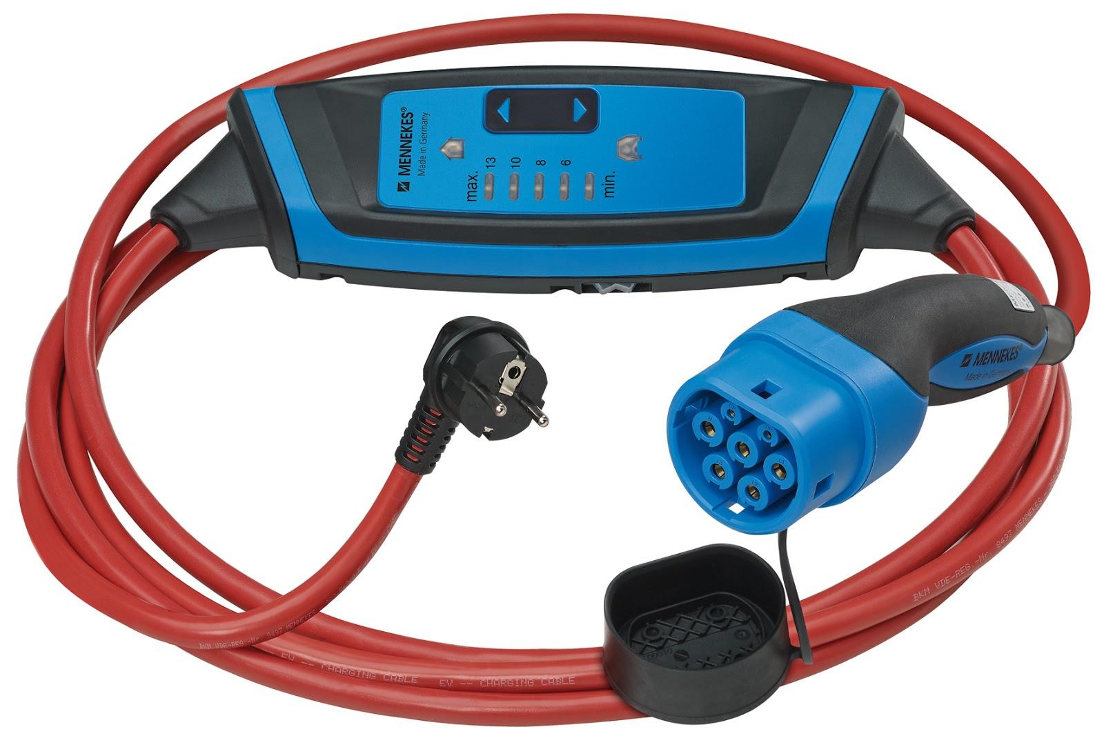 Cable con caja de control