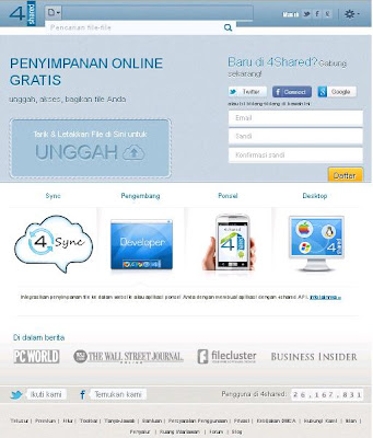4Shared.com situs download gratis