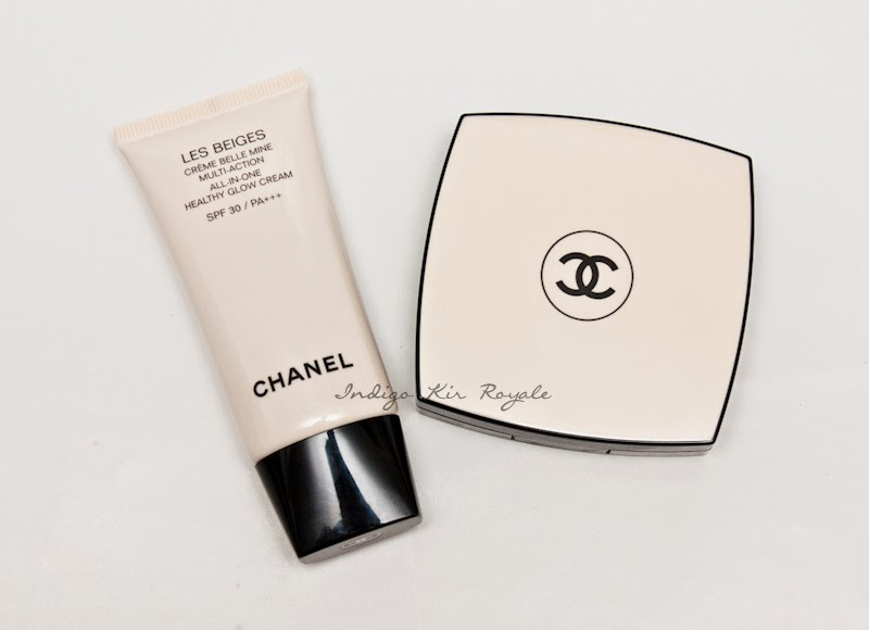 chanel les beiges all in one healthy glow cream spf 30 pa indigo kir royale. Black Bedroom Furniture Sets. Home Design Ideas
