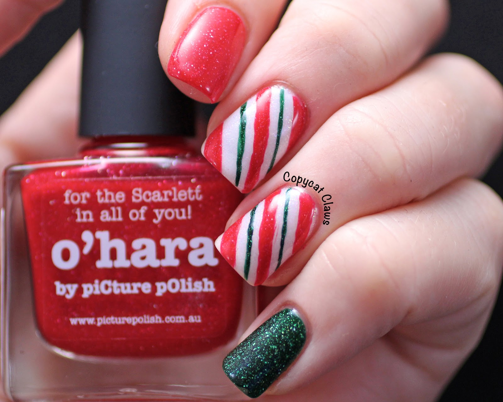Of those mini candy canes as i was writing this told you i like them