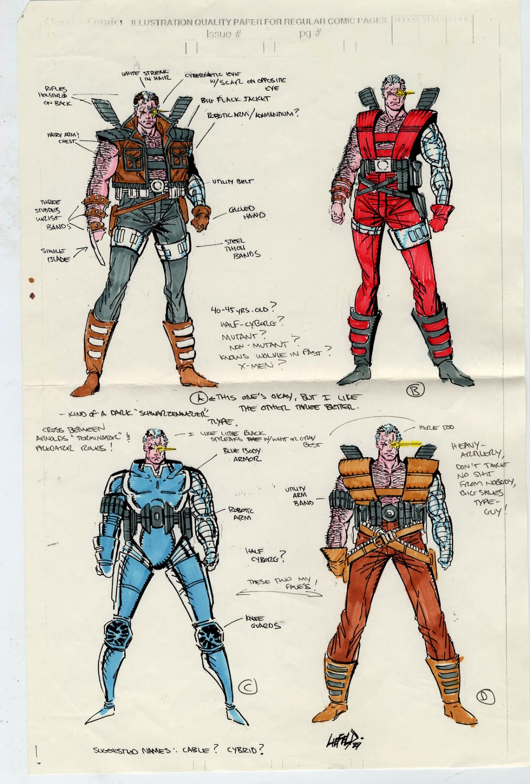 cable marvel comic: