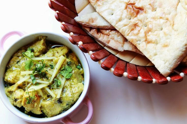 Food network recipes on recipescards blog green chicken karahi forumfinder Choice Image