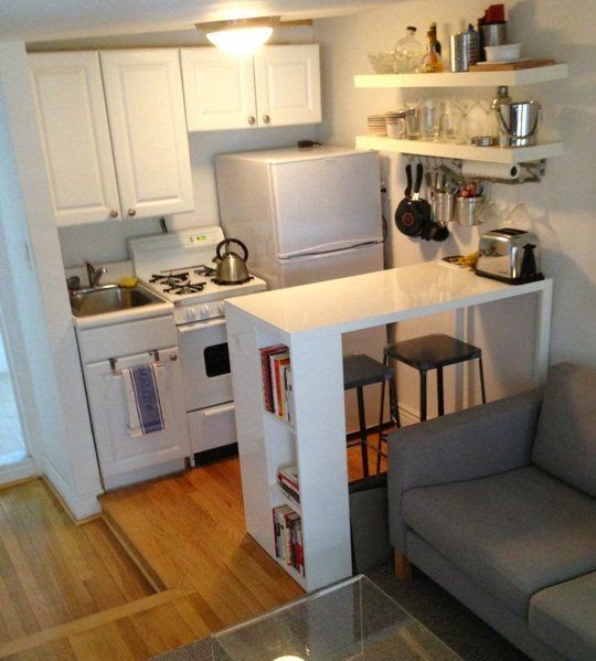 Diy decora o solu es para casas pequenas e quitinetes - Kitchen solutions for small spaces pict ...