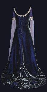 purple medieval wedding dresses