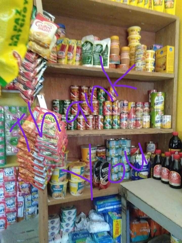 Sari Sari shop.