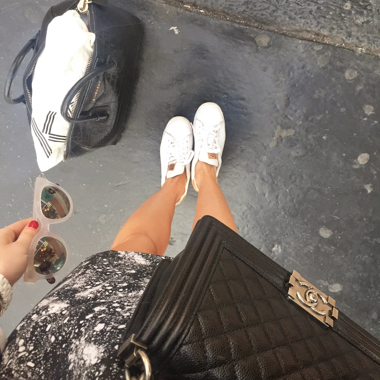 travel, fashion bloggers, mcathur glen, sandro, furla, eleven paris, chanel