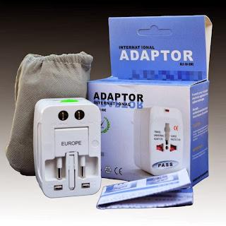Universal World All In One AC Power Plug Converter US/EU/UK/AU/China...Plug