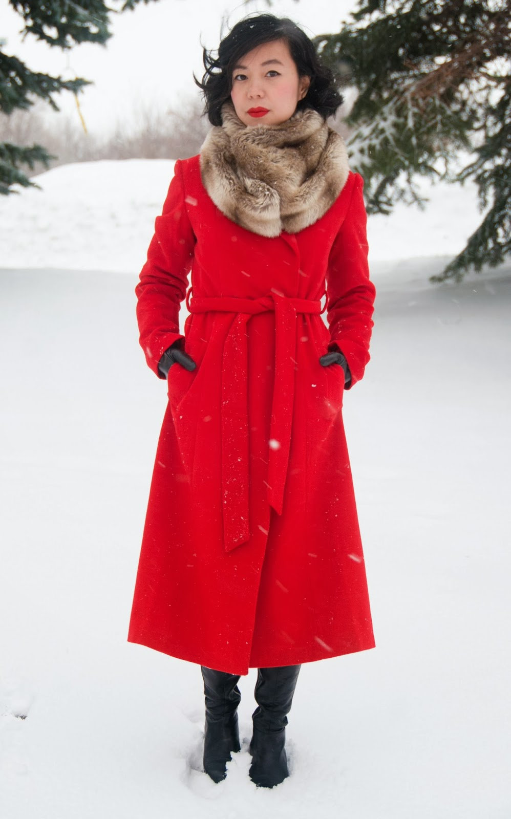 Montreal Fashion Blog: Bouquet of Frocks: Walking In A Winter ...