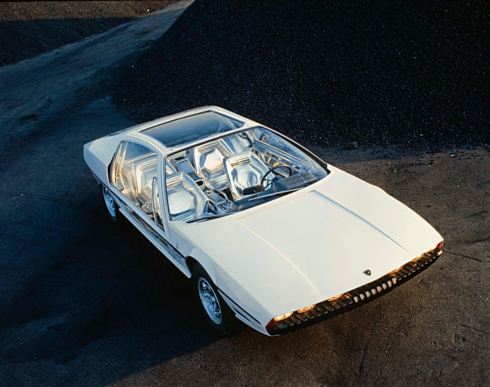 Lamborghini Marzal Interior 1967 Lamborghini Marzal by