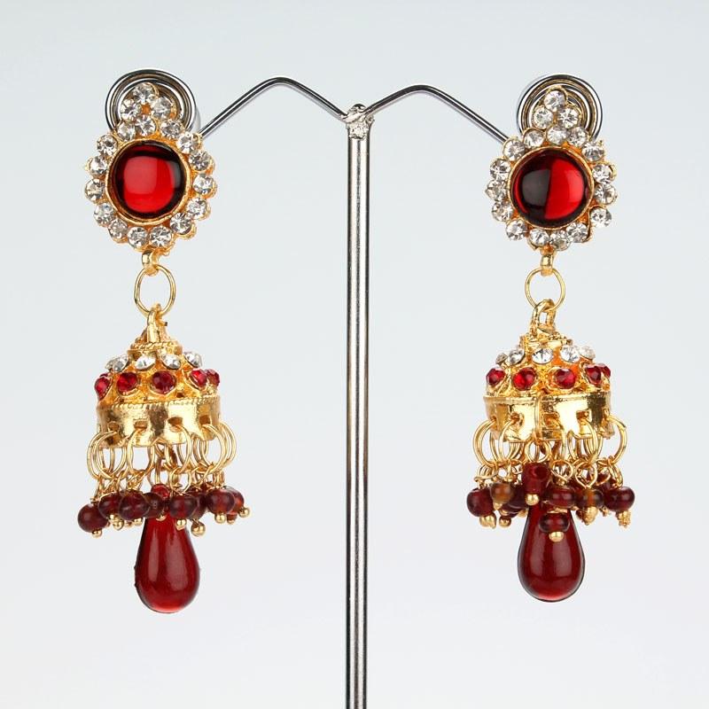 SHE FASHION CLUB: Jhumka Earrings In Gold Designs